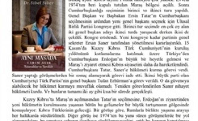 ODTÜ Rektörü'nün, Sibel Siber'in kitabı ile ilgili değerlendirmesi Türk İngiliz ilişkileri dergisinde yayınlandı