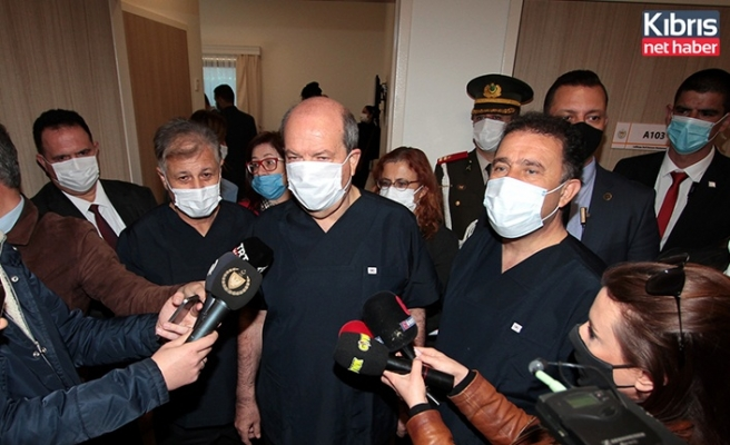 Tatar, Saner ve Pilli koronavirüs aşısı oldu