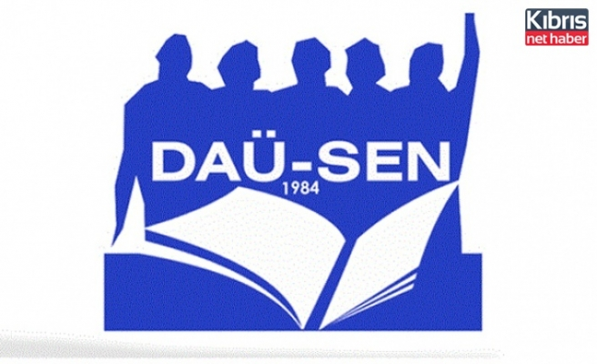 """DAÜ-SEN:"""" Yüz Yüze Eğitim Güvenli Ülke Politikasi İle Mümkün"""""""