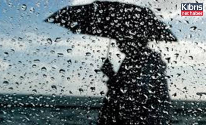 Dün Dipkarpaz'da metrekareye 3 kilogram yağış kaydedildi