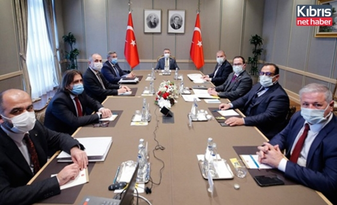 Oktay, KKTC Ekonomik Örgütler Platformu üyeleriyle bir araya geldi