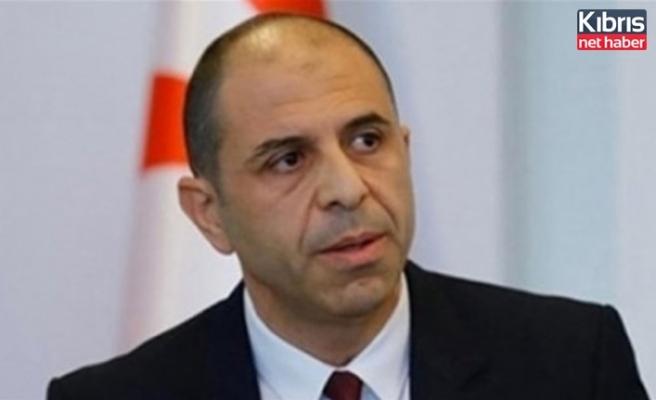 Özersay'dan, Şehit Olan 13 Türk Vatandaşi İçin Başsağliği Mesaji
