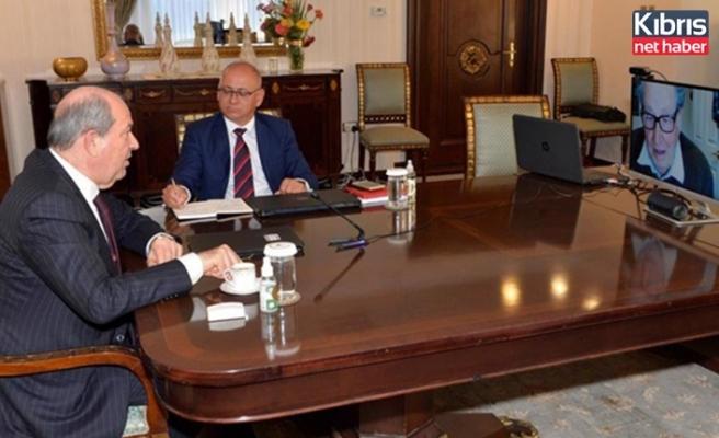 Cumhurbaşkanı Tatar: Deniz yetki alanları, hafife alınmamalıdır
