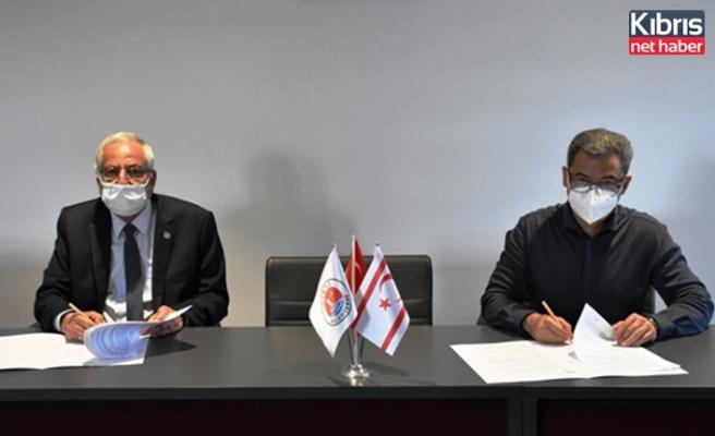 Girne Belediyesi ile Denkay Başel Sosyal Gelişim Vakfı arasında protokol imzalandı
