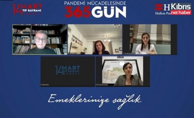 """Halkın Partisi, """"pandemi mücadelesinde 365 gün"""" başlıklı panel düzenledi"""