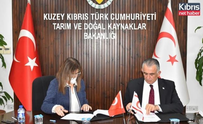 """Kalkanlı bölgesinde """"Adem Kaner ve Kedat Kaner anı ormanı"""" oluşturulmasını öngören protokol imzalandı"""
