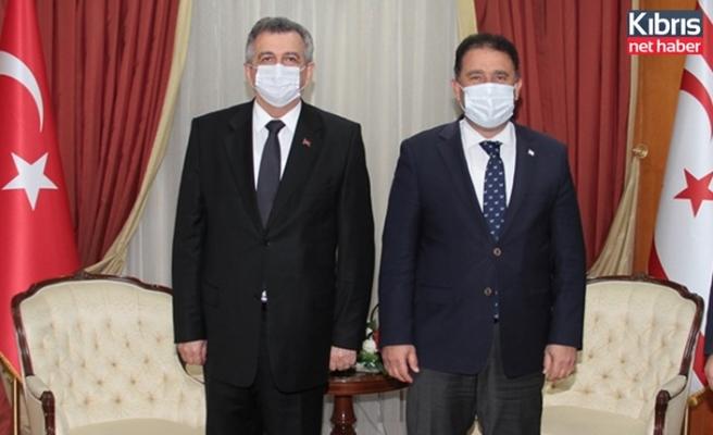 Saner, Türkiye Sanayi ve Teknoloji Bakan Yardımcısı Büyükdede'yi kabul etti