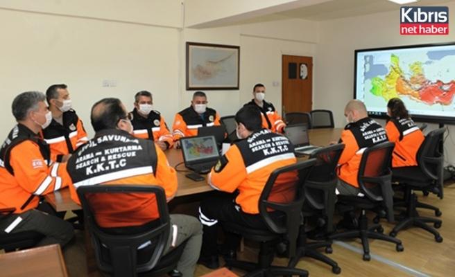 Sivil savunma teşkilatı, tsunami tatbikatı 2021'e katıldı