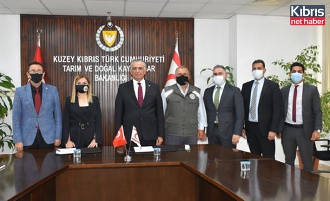 Tarım ve Orman Bakanlığı ile KOOPBANK arasında protokol imzalandı