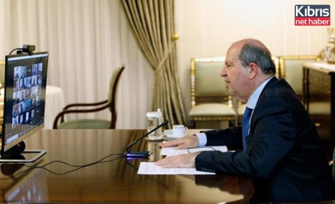 Tatar: Türkiye Cumhuriyeti ile güçlenen ilişkilerimiz, yeni politikamız yatırım iklimimizi de lehimize döndürdü