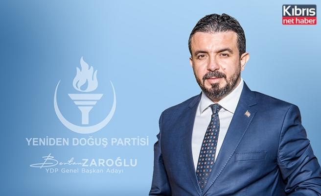 Zaroğlu: Demokrasinin güçlenme mücadelesi ülkeden önce parti içinde verilmeli