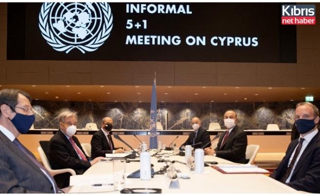 5+BM gayrıresmi Kıbrıs toplantısının ilk oturumu başladı