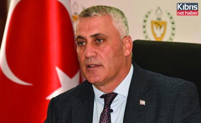 Amcaoğlu, 23 Nisan Ulusal Egemenlik ve Çocuk Bayramı dolayısıyla ulusa sesleniş konuşması yaptı