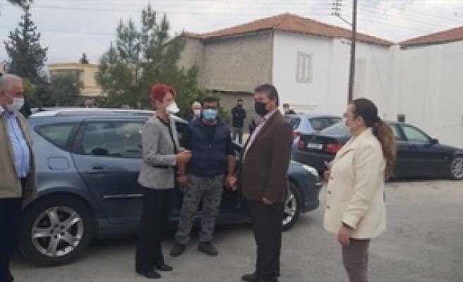 Bakan Üstel, Gazimağusa hastanesi ve Geçitkale sağlık merkezini ziyaret etti