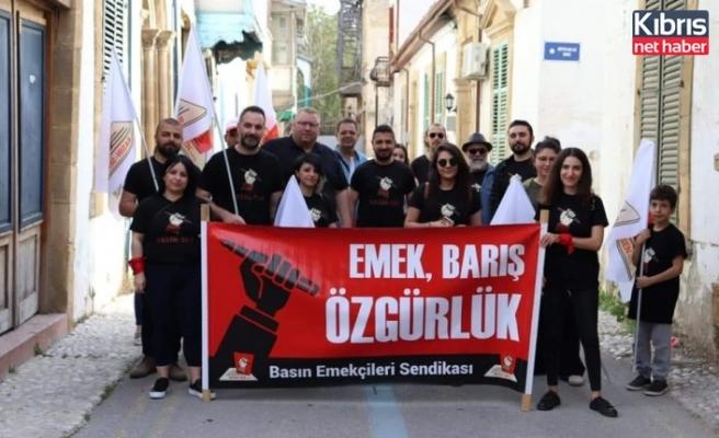 BASIN-SEN: Yaşasın kızıl 1 Mayıs