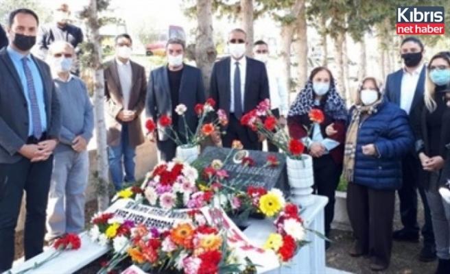 Berberoğlu, ölümünün 19'uncu yıl dönümünde anıldı