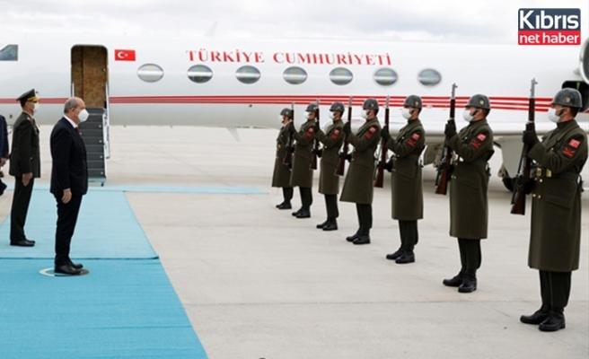 Cumhurbaşkanı Tatar, Ankara'da devlet töreniyle karşılandı