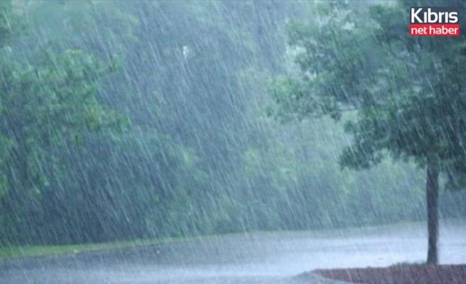 En çok yağış Tatlısu'da kaydedildi