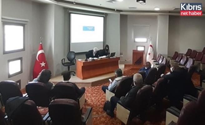 Faiz yasası ve borçların yapılandırması yasa taslağı hakkında toplantı yapıldı