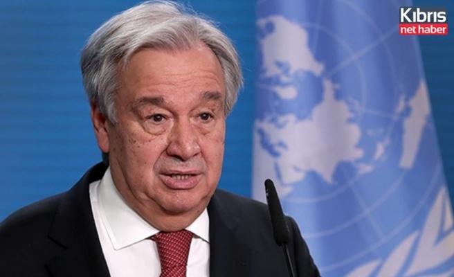 Guterres: Resmi görüşmelerin başlaması için yeterli ortak zemin bulamadık