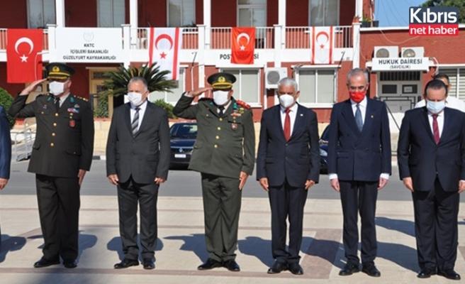 Güzelyurt'ta 23 Nisan kutlama töreni düzenlendi