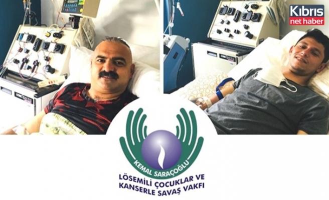 Kemal Saraçoğlu Vakfı'na verilen örnekler iki hastaya umut oldu