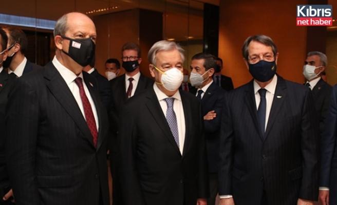 Liderler Guterres'in verdiği resepsiyonda buluştu