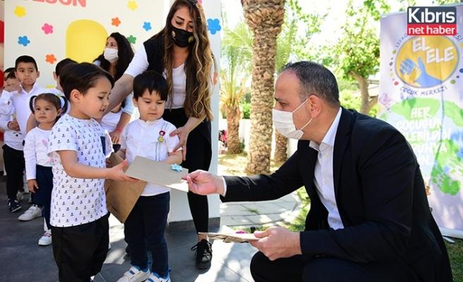 LTB, El Ele Çocuk Merkezi'ndeki çocuklar 23 Nisan'ı şarkılar ve oyunlarla kutladı