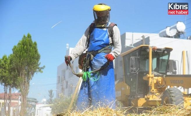 LTB'nin 2021 bahar ve yaz dönemi bölgesel ot temizliği sürüyor