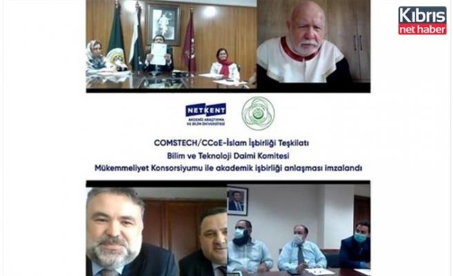NETKENT Üniversitesi ile Comstech/ccoe İslam İşbirliği teşkilatı arasında iş birliği anlaşması imzalandı