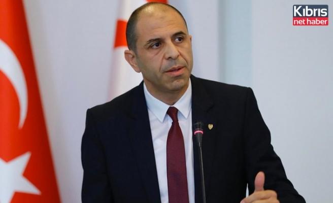Özersay: Türk tarafının koyduğu ön şart, iş birliği modelinin görüşülmesini engelledi