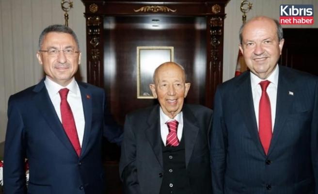 TC Cumhurbaşkanı Yardımcısı Oktay, Cumhurbaşkanı Tatar'a taziyelerini iletti