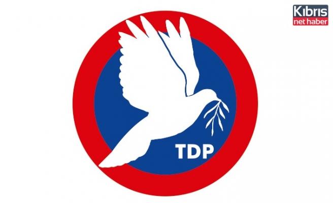 TDP: Gelecek adına endişeliyiz