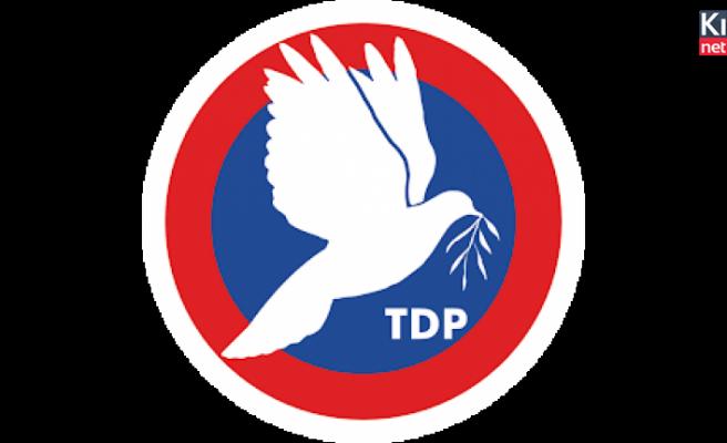 TDP: Kıbrıs Türk'ünü kurtlar sofrasına meze yapmayacağız