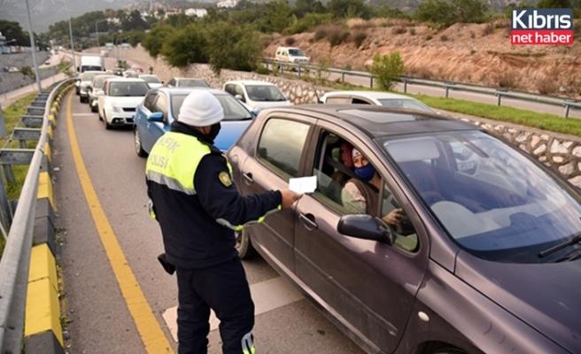 Trafikte son bir haftada 428 rapor