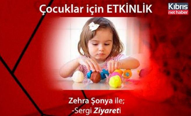 Zehra Şonya'nın sergisi 1 Mayısta kapanıyor