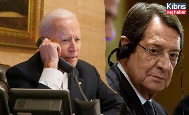 Anastasiadis: Bıden'dan telefon bekliyorum