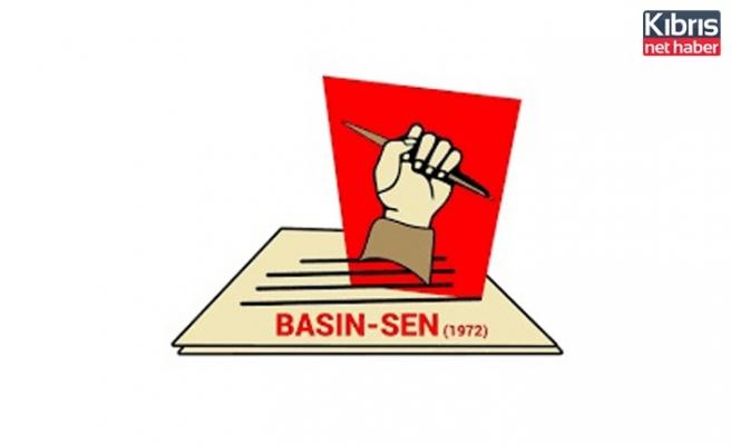 BASIN-SEN: Cumhurbaşkanı Tatar'ın gazetecilere yönelik sergilediği tavır kabul edilebilir değildir