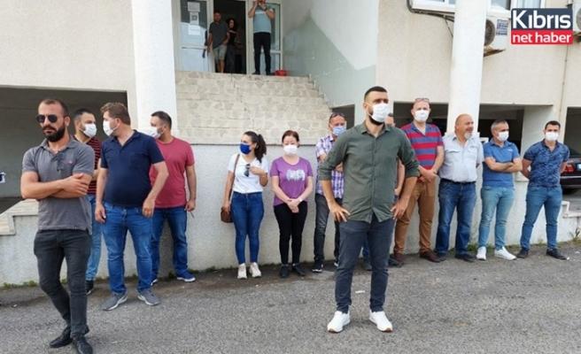 GÜÇ-SEN: Gümrük Dairesi'ndeki personel eksikliğinden dolayı eylem yaptı