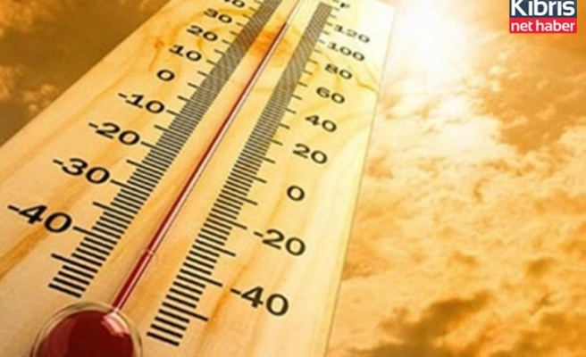 Hava sıcaklığı 38 dereceye kadar yükselecek
