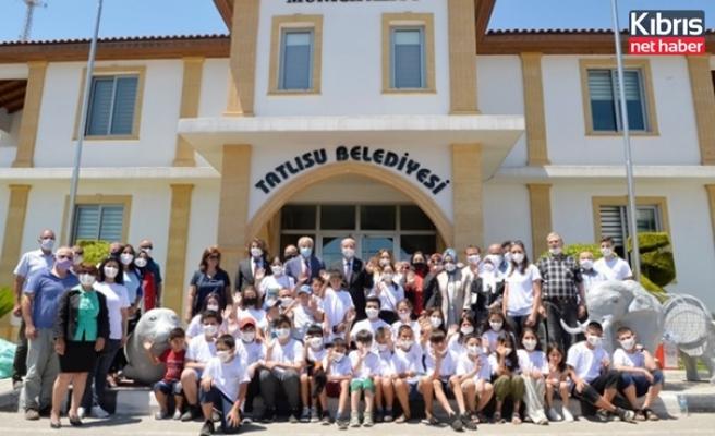 """""""Atık Yönetimi Projesi"""", Cumhurbaşkanlığı Turizm Ve Çevre Komitesi İle Tatlısu Belediyesi İş Birliğinde Hayata Geçti"""