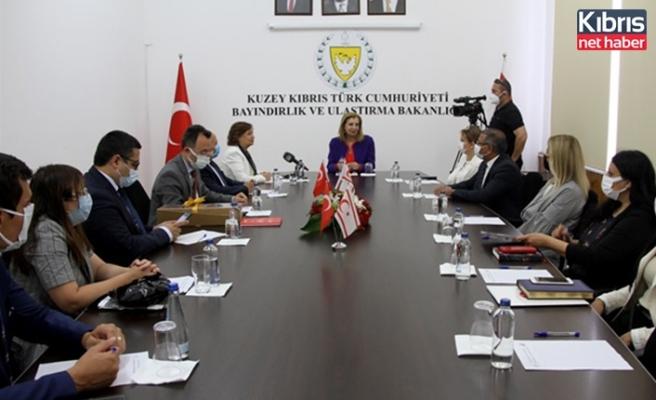 Bakan Canaltay, TBMM Dilekçe Komisyonu Heyetini kabul etti