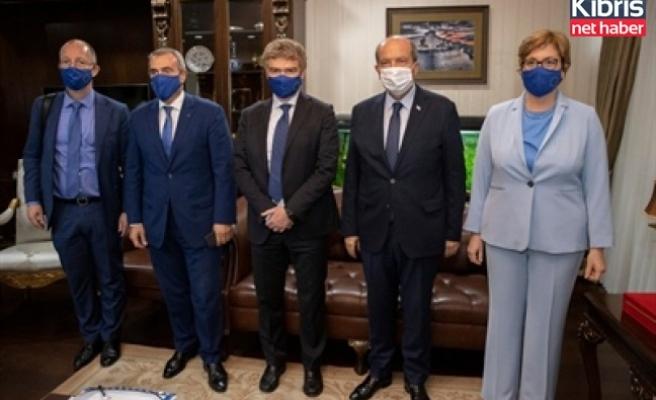 Cumhurbaşkanı Tatar AB Komisyonu yapısal reform destek birimi genel müdürü Nava'yı kabul etti
