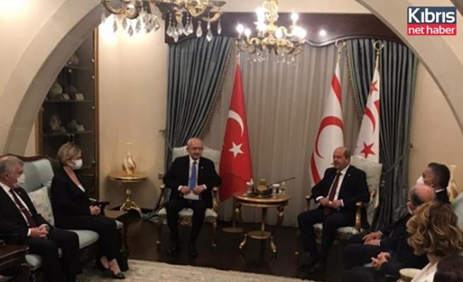 Cumhurbaşkanı Tatar, Kılıçdaroğlu'nu Kabul Etti