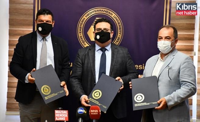 DAÜ İle Limak Cyprus Deluxe Hotel Arasında İş Birliği Protokolü İmzalandı