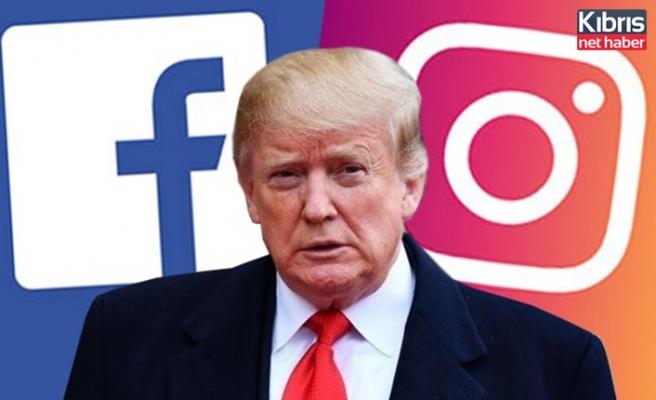 Facebook ve Instagram'dan Donald Trump'a yasak