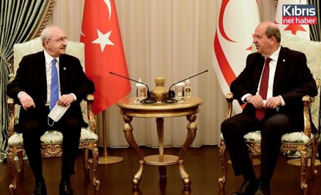 Tatar Kılıçdaroğlu'nu Kabul Etti