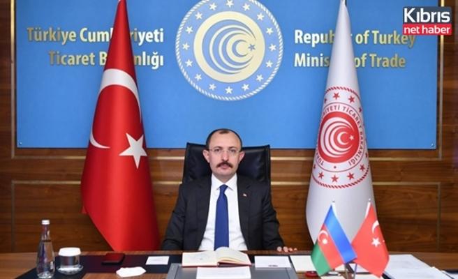Türkiye Ticaret Bakanı Muş KKTC'ye Geldi