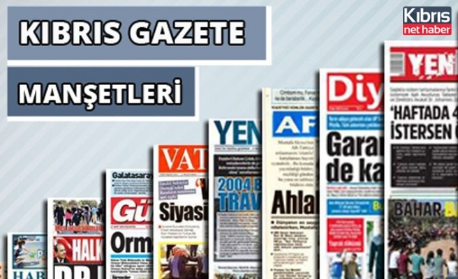 13 Temmuz 2021 Salı Gazete Manşetleri