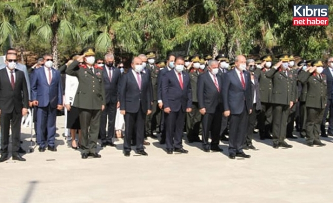 20 Temmuz Barış ve Özgürlük Bayramı Dolayısıyla Boğaz Şehitliği'nde tören düzenlendi